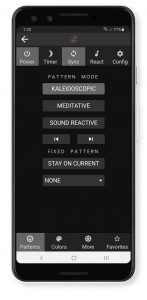 Hyperspace Mobile App Main Screen